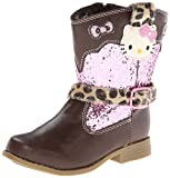 Hello Kitty Lil Nicole Western Boot (Toddler),Brown,6 M US Toddler