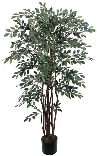 Nearly Natural 5082 Ruscus Silk Tree, 4-Feet, Green by Nearly Natural