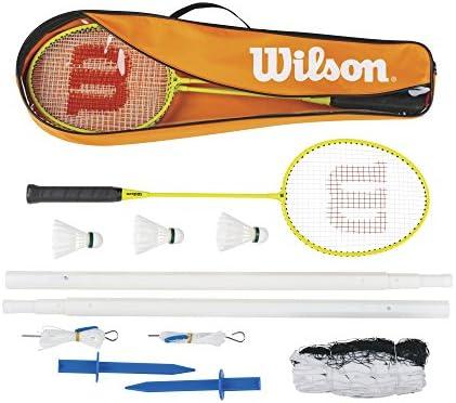 Rosa Outdoor Sports Tennis Kit Bambini Ambientale Badminton Set con Zaino per Bambini Free Size szdc88 1Set Leggero Racchetta Badminton Set