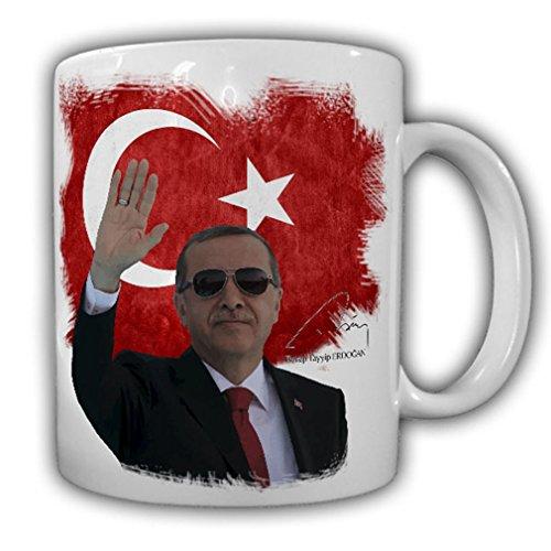 Recep Tayyip Erdogan Türkiye President Flag turk Home Istanbul Pride Osmane - Coffee Cup Mug