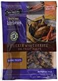 Three Dog Bakery Grain Free Chicken with Carrots Meaty Training Treats for Dogs, 5 oz