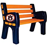 IMPERIAL INTERNATIONAL AUBURN TIGERS PARK BENCH