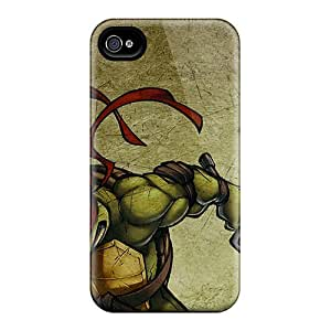 Iphone 6plus VyE10007XXKn Customized HD Raphael Teenage Mutant Ninja Turtles Image Anti-Scratch Hard Phone Cases -MansourMurray