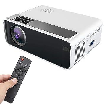 Portátil Proyector LED HD 1080P Proyector de Cine en Casa ...