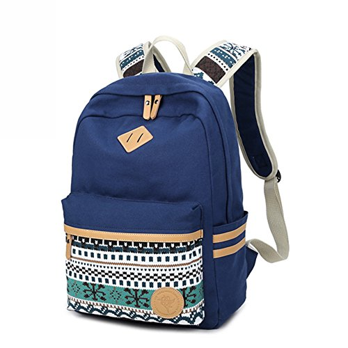 rucksack rucksack rucksack Rucksack Blau mädchen damen Beutel Zigeuner stilvolle Marsoul im Rucksack Damen Weinlese Mit rucksack Damen BqYxwpxXTt
