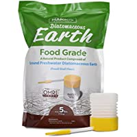 Harris Diatomaceous Earth Food Grade, 5lb w/Free Powder...