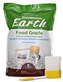Harris Diatomaceous Earth Food Grade, 5lb w/ Powder Duster Included in the Bag