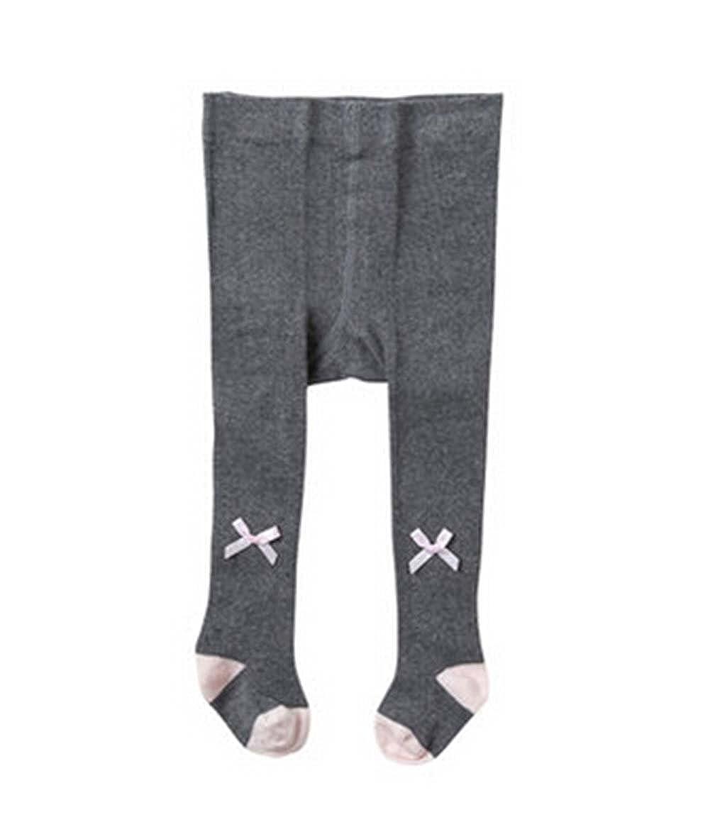 PANDA SUPERSTORE Children Socks Girls Leggings Stockings Leggings Pants Pantyhose,Dark Gray