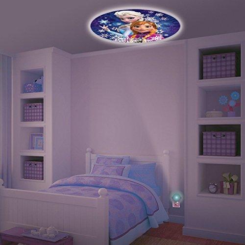 Night Disney Tinkerbell Light (New Set Baby Fall Asleep Fast Crib Bed LED Light Soft Dream Light Fairy Tail Disney Disney FROZEN Projectables LED Plugin Night Light - Tinkerbell Iridessa Bedroom Wall Decor Projector)