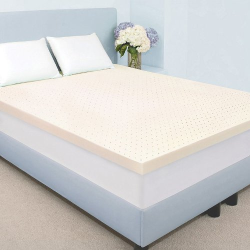 Authentic Comfort 3-in. Cal. King Biofresh Memory Foam Mattress Topper - 71 x 83 by Authentic Comfort (Image #1)