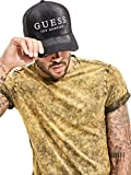 Guess Men's James Denim Mesh Baseball Cap