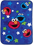 Sesame Street Toddler Blanket - Elmo & Cookie Monster