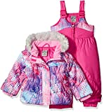 ZeroXposur Little Girls' Toddler Dora Snowsuit, Camellia, 3T