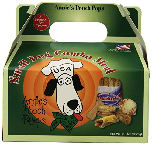 Annie's Pooch Pops Small Dog Combo Meal (Doggy Pops Bacon)