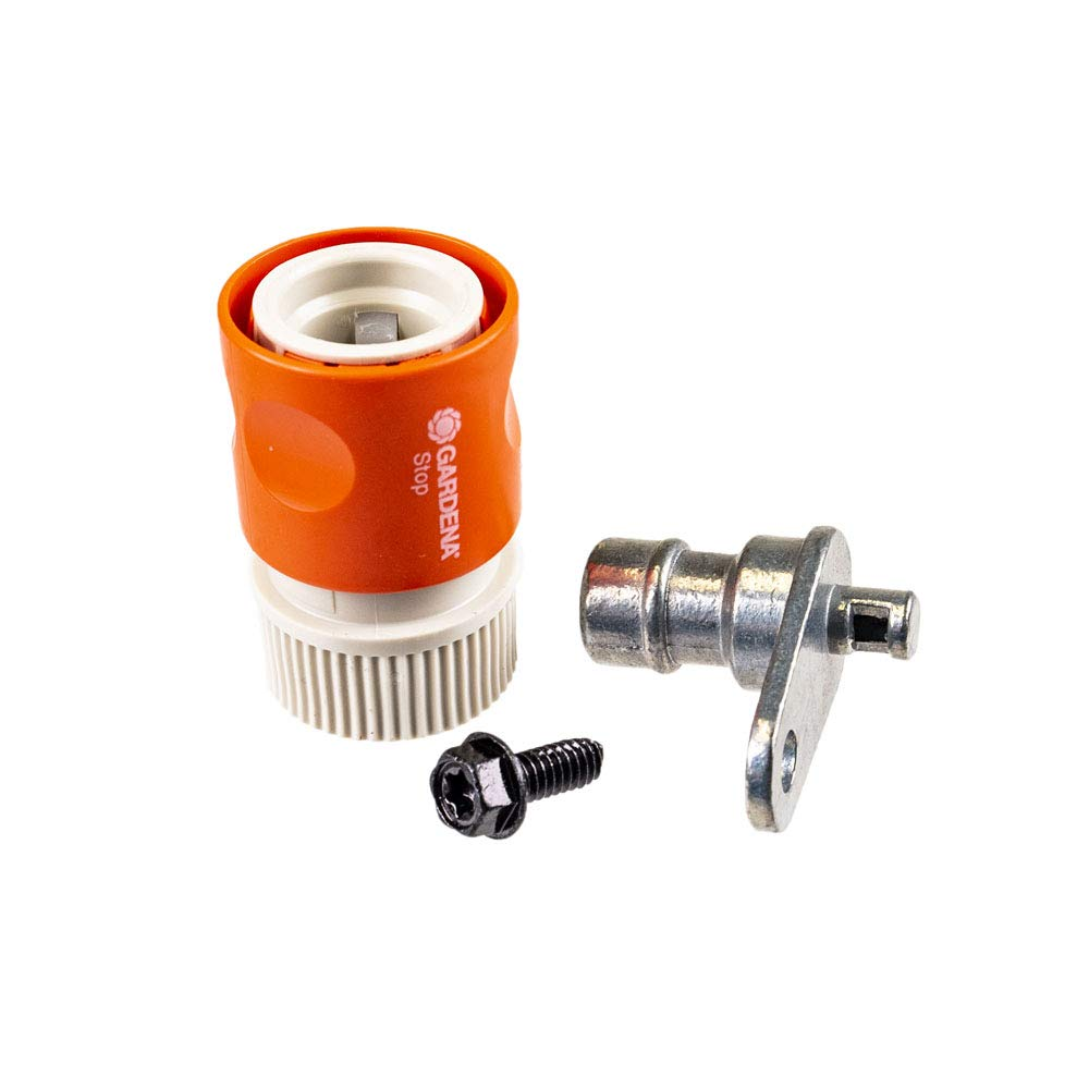 Husqvarna 578451301 OEM Lawn Garden Tractor Deck Wash Kit Port & Coupler Washout + (Free E-book) A Complete Guidance To Take Care Of Your Lawn