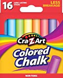 Cra-Z-Art Colored Chalk, 16 Count