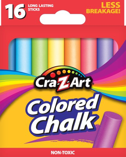 Cra Z Art Colored Chalk Count 10801 48 product image