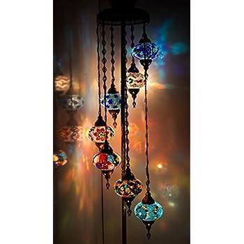Chandelier, Floor Chandelier, Ceiling Lights, Turkish Lamps ...