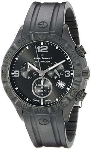 Claude-Bernard-Mens-10205-37N-NIN-Analog-Display-Swiss-Quartz-Black-Watch