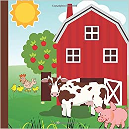 Farm 2nd Birthday Party Guest Book Plus Printable InvitationsThank You Cards Gift Tracker Picture Pages For A Lasting Memory
