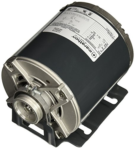 Marathon 4725 48Y Frame Open Drip Proof 5KH32DN5587X Carbonator Pump Motor, 1/4 hp, 1800 rpm, 115 VAC, 1 Split Phase, 1 Speed, Sleeve Bearing, Rigid Base