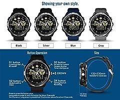 Amazon.com: Sunward Zeblaze Vibe 4 Hybrid Bluetooth ...