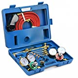 Oxygen Acetylene Cutting Torch Burner Welding Kit Victor Type Twin Hose Heating Tip
