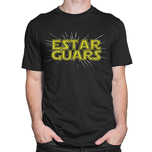 [Estar Guars - Spanish Version of Star Wars Funny Adult T-Shirt by TheShirtDudes] (Cheap Star Wars Shirts)