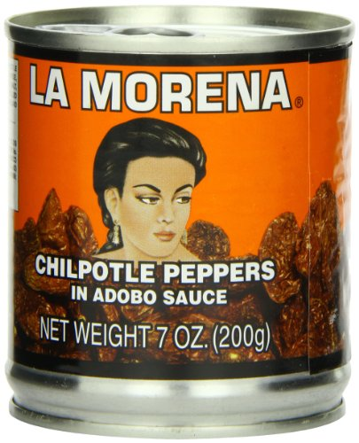 La Morena Chipotle Peppers in Adobo Sauce, 7 Ounce (Pack of 24) - Chipotle Chiles In Adobo