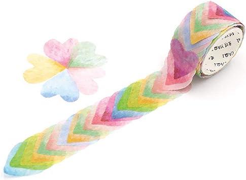 200PCS Masking Scrapbook Sticker Sticky Paper Flower Petals Tape Washi Tape DIY