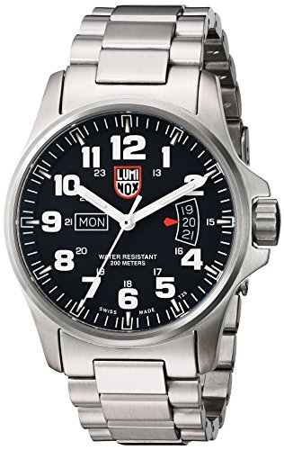 Luminox Men's A.1822 Field Time Date Stainless Steel Watch