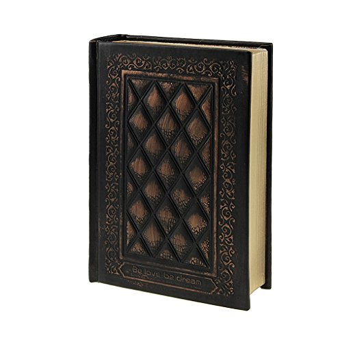 Antique Leather Cover Blank Pages Thick Notebook Notepad - 9