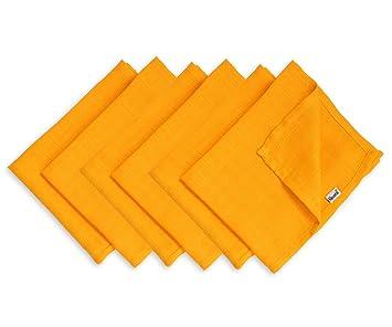 Mull Waschlappen aus weicher Baumwolle divata 35x35 cm Mullt/ücher bunte Baby Spuckt/ücher - kleine Regenbogen Mini 6er Set Oeko-Tex-Zertifiziert