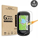 (Pack of 4) Tempered Glass Screen Protector for Garmin Oregon 600(t) / 650(t) GPS, Akwox 0.3mm 9H Hard Scratch-resistant Screen Protector for Garmin Oregon 600 600t 650 650t