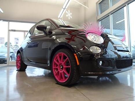 Pink Car Eyelashes Eyelashes For Your Car Fashion Lashes For All Cars