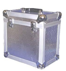 """Neo - Caja para vinilos (para vinilos de 12""""), color plateado"""