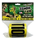 Zombie Tape - CAUTION ZOMBIE ZONE - 100 Feet!