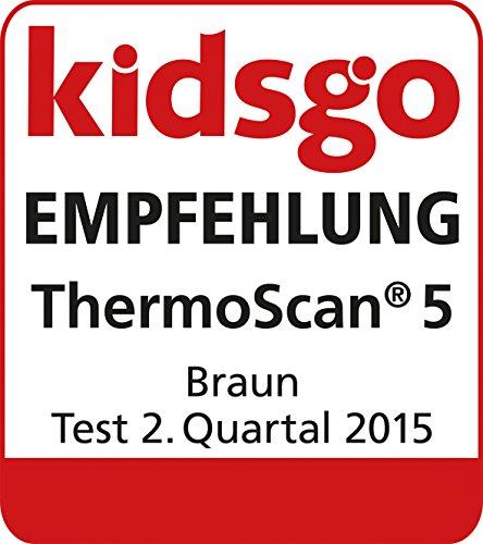 51soadqfvVL - Braun ThermoScan IRT6020 Digital Ear Thermometer