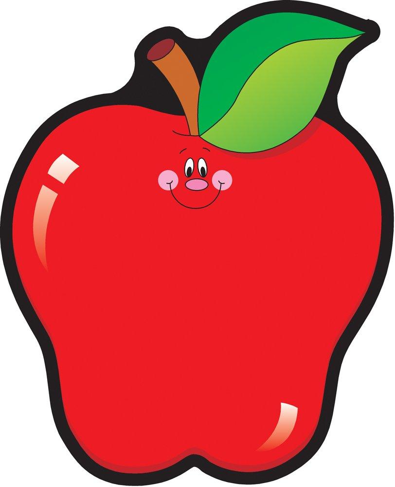 Carson Dellosa – Apples Colorful Cut-Outs, Classroom Décor, 36 Pieces