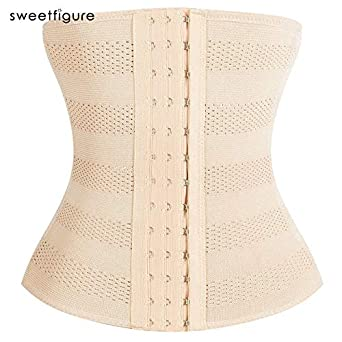 bfc37c3ff4 HITSAN INCORPORATION 5XL Slimming Corset Waist Trainer Cincher Girdles Body  Shaper Women Postpartum Belly Band Underbust