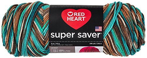 Red Heart Yarn Red Heart Super Saver Reef, Print