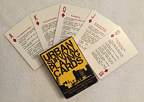 Urban Survival Playing Cards - These aren't simply playing cards...they're a powerful survival tool for you and your loved ones to use if you need to survive in an urban area.