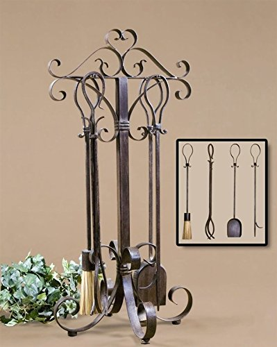 Uttermost Daymeion Fireplace Tools Set of 5 - 20338 supplier_id_shop_freely ,ket218131358796136