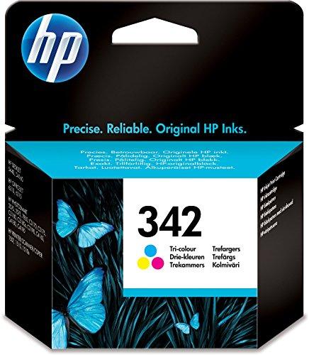 HP 342 Farbe Original Druckerpatrone für HP Deskjet, HP Officejet, HP Photosmart