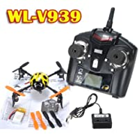 WLToys V939 Beetle ladybird 4CH RC 2.4Ghz 4-axis 3D Mini Heli XCopter Quadcopter