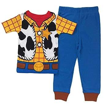 Amazon.com: Toy Story Woody Toddler Boys Cotton Pajama Set ...