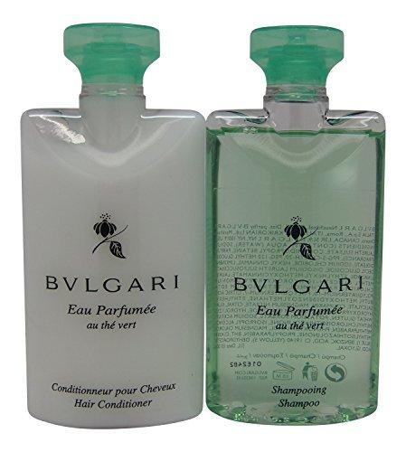 Bvlgari Au the Vert (Green Tea) Shampoo & Conditioner Lot of 6 (3 of Each) (Bvlgari Au)