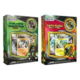 Pokemon TCG 2 Pack: Tapu Koko + Zygarde Complete Form Pin Collections - Trading Card Game 2 Foil Promo Cards 4 Booster Packs Online Code NEW