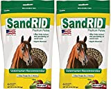 (2 Pack) Equine Sandrid Psyllium Pellets Value Pack for Equine, 2.3 lb