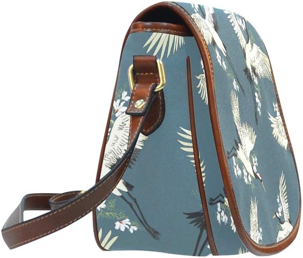 Wish Hand Made Paper Crane Gift Toy Shoulder Bag For Teens Flap With Magnetic Snap Printed Ladies Crossbody Bag Saddle Shoulder Bag